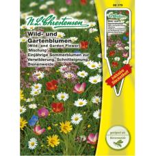 Wild and garden flowers, mix