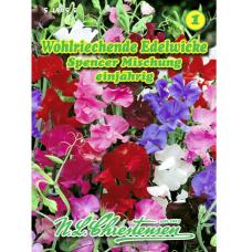 Lathyrus odoratus, Sweet Pea Spencer, mix