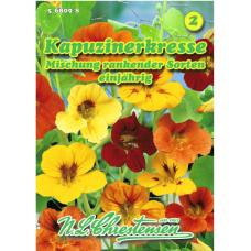 Tropaeolum majus, Nasturtium, mix