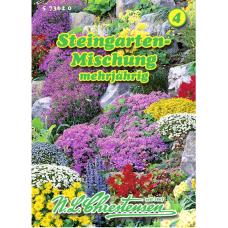 Rock garden perennials, mix