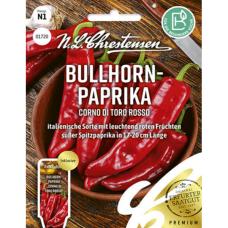 Sweet pepper 'Corno di toro rosso', NEW 2021! PREMIUM. SALE - 20%!