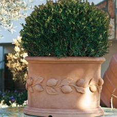TERRA COLLECTION, Decorative flower pot CILINDROCONFRUTTA50. SALE - 20%!