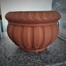 TERRA COLLECTION, Decorative flower pot CASPOACANTO25. SALE - 30%