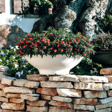 TERRA COLLECTION, Decorative flower pot CIOTOLAALTA 60. SALE - 30%!