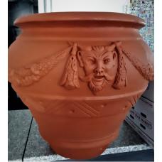 TERRA COLLECTION, Decorative flower pot ORCIODECORATO65. SALE - 30%!