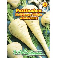 Parsnip white 'Halblange Weiße'(Pastinaca sativa)