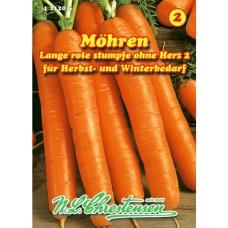 Carrot Lange rote stumpfe 2