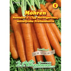 Carrot Nantes 2, ribbon of seeds