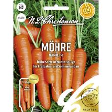 Carrot 'Napoli' F1, NEW! PREMIUM. Seed tape