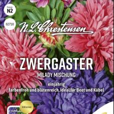 Callistephus chinensis  'Milady' Mix, 5,0 gr