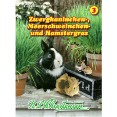 Grass for dwarf rabbits, guinea pigs and hamsters