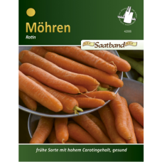 Carrot Rotin GS, tape seeds