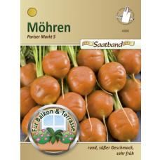 Carrot 'Pariser Markt 5', seed tape