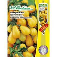 Partytomato Yellow Pearhaped